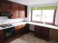 2 Bedroomed mid-terrace house for rent in Southmuir, Kirriemuir. Unfurnished.