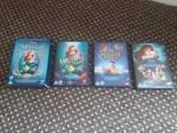 The Little Mermaid - 3 DVD movie collection