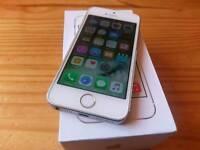 IPhone 5 s white brand new condition in box VODAFONE,LEBARA,TALKTALK