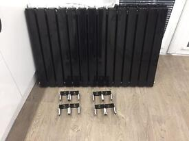 High Gloss Black Double Radiator 2 Available price each