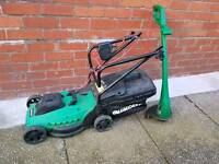 Qualicast lawn mower and strimmer