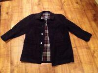 Burberry vintage coat men