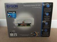 Epsom XP-345 colour printer / copier. New, unused
