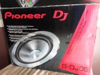 Mint Condition Pioneer S-DJ05 Active Reference Speakers