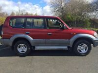 52 Red Toyota Landcruiser Colorado GX 3.0 Auto 7 seater