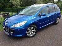 Peugeot 307 - 7 Seater - 1.6 Diesel - HPI Clear - Low Mileage - Warranty