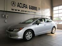 2012 Honda Civic LX Automatique **38519Km**