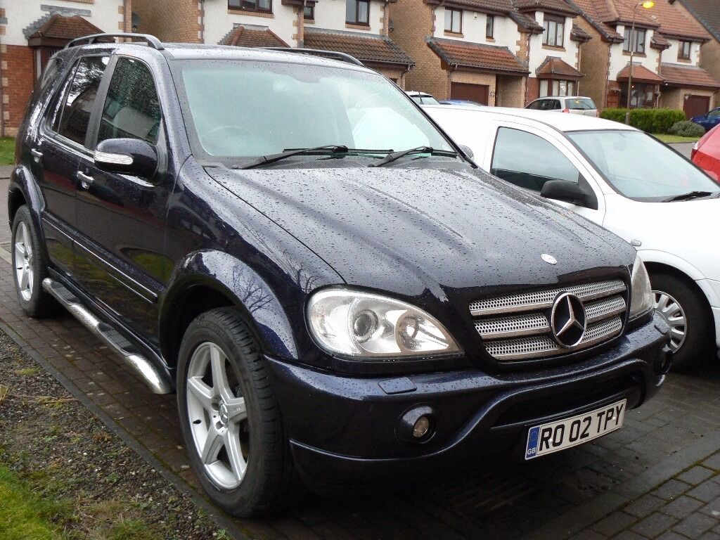 amg mercedes ml 55 in livingston west lothian gumtree. Black Bedroom Furniture Sets. Home Design Ideas