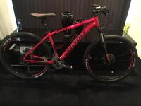 Red and black cannondale trial 3 2016 mountain bike, never been used,brand new