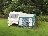 Baily pegusas II Aconta . 6 berth caravan, great condition