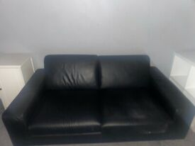 1 arm chair large 2 seater matching