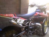 2012 road legal husqvarna wr 125 with extras