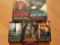 Books - 5 Quintin Jardine novels.
