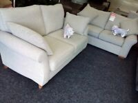 Next 3&2 grey sofas tags attached
