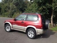 HI SPEC SUZUKI GRAND VITARA 4WD/SERVICE HISTORY /LOW MILES/NEW MOT/BRAND NEW CAMBELT/IDEAL SIZE 4WD