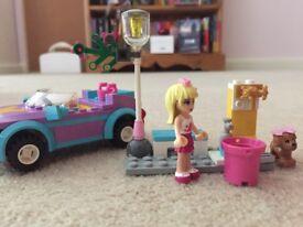Lego friends Stephanie car