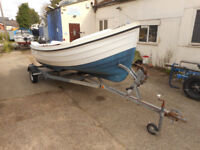 Orkney Longliner - 16ft - Tohatsu Outboard - Trailer - Quality Boat & Great Fun
