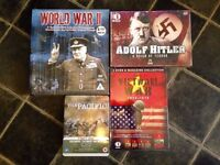 4X WAR DVD BOX SETS