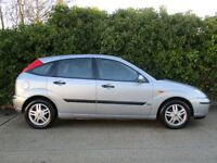 FORD FOCUS, ZETEC, 5 DOOR HATCHBACK, 1 ELDERLY LADY OWNER FROM NEW(6MONTHS OLD)OUTSTANDING CONDITION