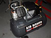 NEW COMPRESSORS, ##SPECIAL OFFER## 100 LITRE V-TWIN CYLINDER ,3HP, ONLY £299, BALLYNAHINCH