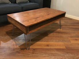 Reclaimed Wood Coffee Table (Matching Side Tables Available see post)
