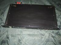 footprint series 75 1U rack amp air cooled