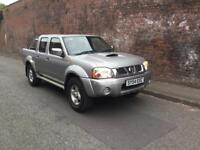 2005/54 NISSAN NAVARA D-22 CREW CAB PICK UP FSH FINANCE AVAILABLE FROM £26 P/W