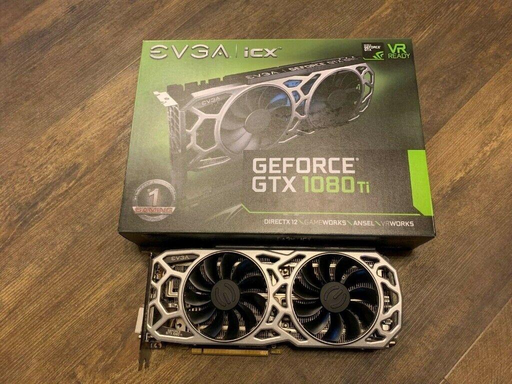 EVGA GeForce GTX 1080 Ti SC2 11GB | in Liverpool City Centre, Merseyside |  Gumtree