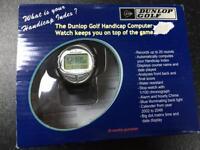 NEW Vintage Dunlop Golf Handicap Tracker Watch