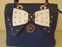 Woman's Diamante Bow Michael Kors Handbag
