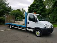 2008 IVECO DAILY 3.0 TD BEAVERTAIL LORRY FULL YEAR PSV LOW MILES £4995 NO VAT