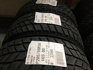 205/55/16 Hankook I Pike *Winter Tires*