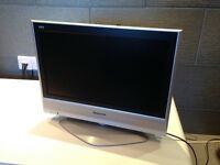 "Panasonic Viera 17 1/2"" flat screen TV"