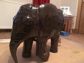 Handmade Elephant Sculpture