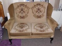 2 seater sofa and matching armchair