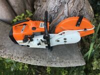 STIHL TS400 CUT OF SAW IN IMMACULATE LITTLE USED CONDITION