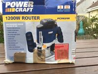 Power-craft 1200 W Router