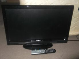 Hitachi 22 inch tv with built in dvd