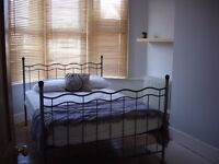 Lovely, bright double room in Hove with patio garden