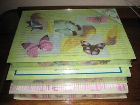 Three Gift Box Writing Sets - £2.00 each or 3 for £5.00