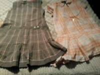 X2 Burberry dresses job lot used