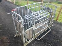 Ironworks sheep turnover crate in very good condition