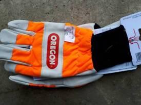 Chainsaw gloves size 9- 10