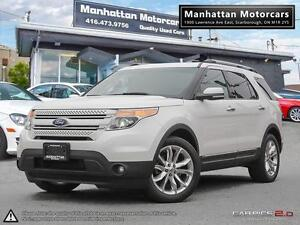 2011 FORD EXPLORER LIMITED V6  4WD |NAV|CAM|DVD|7PASS|PHONE|ROOF