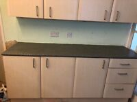 kitchen units really good condition buyer to dismantle accepting offers