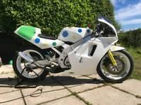 Suzuki rgv 250 race bike