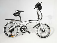Brand New Electric Folding Bike Go Go City Sprinter