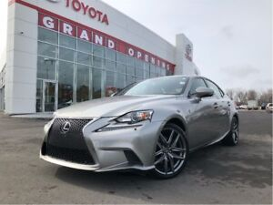 2015 Lexus IS 250 F Sport 2 Package, red leather