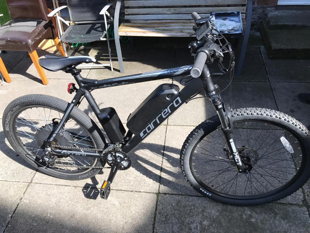 48v 1500w Carrera Electric Bike 35mph Bluetooth In Bootle