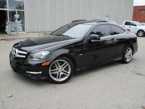 2012 Mercedes-Benz C-Class C250 PANOROOF LEATHER TINTED